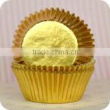Most Popular Golden Foil Cupcake Liners Silver Foil Paper Baking Cups Wholesale Muffin Cases