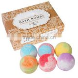 Bath Bombs Gift Set Bath Bombs Type Bath Bombs Gift Set 6 All Natural Assorted Essential Oil Bath Bombs