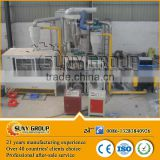 CE approved waste toothpaste tube recycling machine/ aluminium plastic separating machine on sale