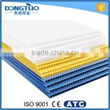 PP corrugated sheet for sale, colorful pp sheet for packaging