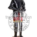 Supplier Of Black Knight Medieval Full Suit of Armour, Full Body Armor Suit
