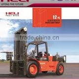 China Top1 Forklift Automatic Transmission H Series 12Ton 12000KG Heli Brand Forklift Truck Price