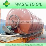 Hot Selling new technology machine for pyrolysis tyre to crude oil and fuel oil