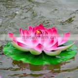 artificial foam material floating lotus water lily