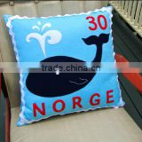 wholesale allibaba high quality new products handmade eco friendly wool felt print cushion cover made in china