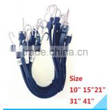10PC EPDM Rubber Tie Down Strap/ Cord Bungee