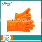 New Cotton Silicone Oven Mitt,Silicone Rubber Handle Grip,Silicone Gloves for Candy Making