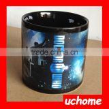 UCHOME Sublimation Photo Color Changing Mug Ceramic Sublimation Magic Mug