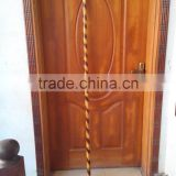 "72"" Rattan Bo Straight Staff Martial Arts Karate Practice Escrima Arnis Kali with Rubber Caps"