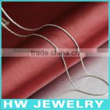 40621 machine made 925 sterling silver chains