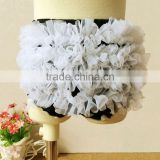 Black White Lace Ribbon Baby Ruffle Bloomers Diaper Covers