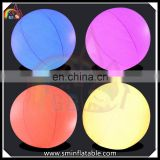 Colorful inflatable led light lantern, led balloon, inflatable decorate ball for advertising