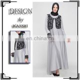 2016 latest design women lace jubah wholesale muslim jubah abaya dubai