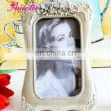 A0123 wholesale resin Classic European Style silver picture frame 6*4