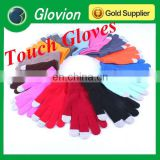 color touch screen gloves winter touch screen gloves acrylic touch gloves