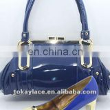 2013 new style dress shoes and bag for women