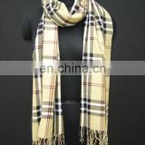 (Super Deal) Viscose Check Stole