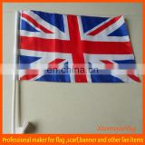 UK nation car window clip flag