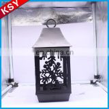 Popular High Quality Outdoor Hut Metal Bird Cages Decorative Candle Lantern Holder