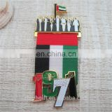 2017 Wholesale Custom Design magnetic Lapel Pin UAE national day gifts