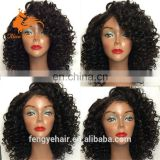 Indian Remy Human Hair Wigs Light Italian Yaki Straight Lace Front Wigs with Baby Hair 130 Density Yaki Wigs