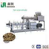 Twin screw dog dry food production line