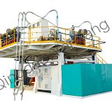 300L-1000L 6 Layers Water Extursion Storage Tank Blow Molding Machine