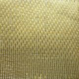 wire mesh Glass laminated brass