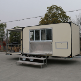 food van FV-68-25,Food Van with Commercial sunshade elastic awning Hot Sale,China Mobile Bar Bike, Pedal Beer Bike, Electric Party Bike Supplier