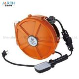 constant spring return retractable 1-12cores signal extension cord cable reel drum for equipments