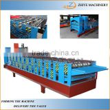 construction equipments Double Layer Colored Steel Type Roof Tile Corrugated Iron Sheet Making Machine