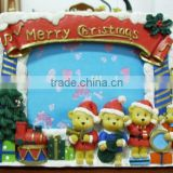 Wholesale Christmas Snowman/ Tress Picture Frame Photo,Crytal Promostone Photo Frame