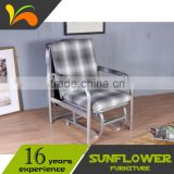 Reasonable price deck chair for indoor and outdoor using folding chair