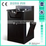 wooden shampoo cabinet for beauty salon