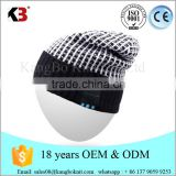 Hands Free Talking Wireless Smart Beanie music Hat Combined with Stereo Headphones and Microphone