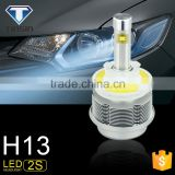 Newest S2 fanless auto High/low beam car h13 h4 high power led headlight for volkswagen amarok