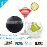 Hot and popular eco-friendly ball shape ice cream tray