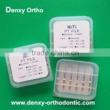 dental materials SS /Niti orthodontic dental rotary files