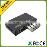 2* 10/100/1000M auto-negotiation RJ45 port and 4 *10/100/1000Mbps SFP optical fiber module switch