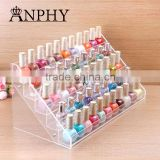 C60 ANPHY Large Wide Big Nail Polish Organizer 41.7 cm length 65 bottles nail polish organizer display rack