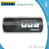 bluetooth car kit handfree car jack for cars command for safe driving with solar panel for charging