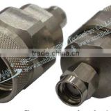 RF connector with 50 ohms male/female coaxial cable stainless steel N/RP SMA connector for high frequency