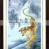 Suzhou handmade embroidery arts and crafts of tiger
