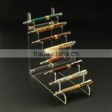 Clear Acrylic Display Pen Stands for 8pcs