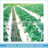 White mulch film layer, white poly sheeting, white plastic film