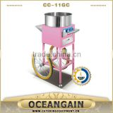 CC-11GC Gas Cotton Candy Machine with Cart                                                                         Quality Choice