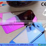 2016 new produtcts Full Color Titanium Alloy Tempered Glass for iPhone 6s Mobile Phone Case China supplier