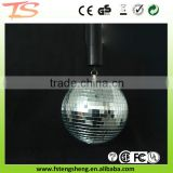Wedding centerpiece rotating disco mirror ball with battery motor