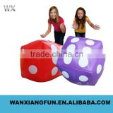 Pvc inflatable dice