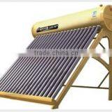 Solar water heater, non-pressure solar heater, vacuum tube type water heater, 2015 new stype solar water heater